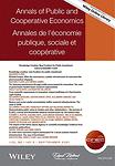 Annals of public and cooperative economics = Annales de l'économie publique, sociale et coopérative