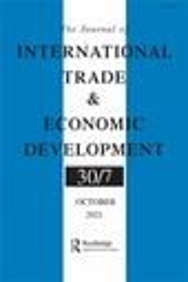 Journal of international trade & economic development