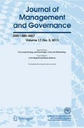 Journal of management and governance