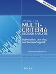 Journal of multi-criteria decision analysis