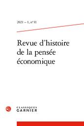 Revue d'histoire de la pensée économique